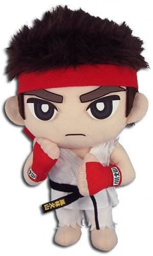 Great Eastern Pelúcia Street Fighter IV Ryu Oficial Licenciado