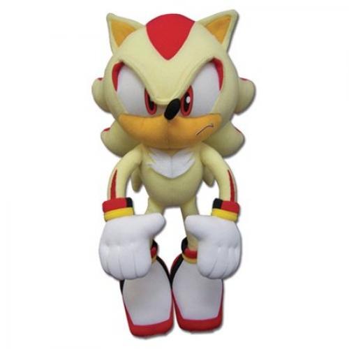 Great Eastern Sonic The Hedgehog Pelúcia Super Sonic Oficial Licenciado
