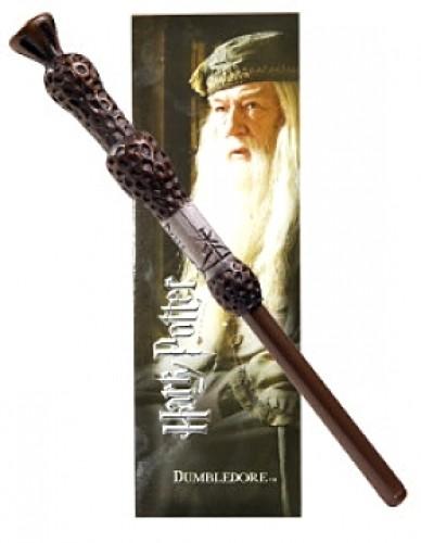 Harry Potter Dumbledore Caneta Varinha e Marcador de LIvro Oficial Licenciado
