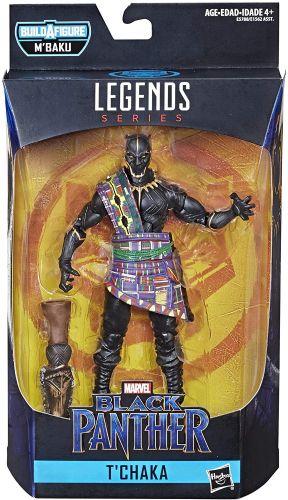 Marvel Legends Series Black Panther - Pantera Negra  T'Chaka Oficial Licenciado