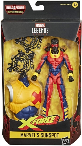 Marvel Legends Series Sunspot Action Figure Oficial Licenciado