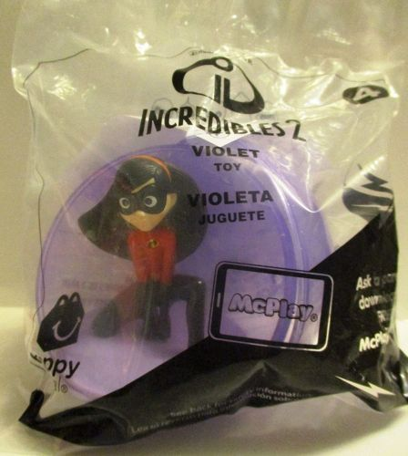 McDonalds  INCREDIBLES 2 VIOLET