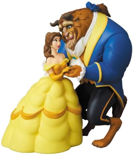 Medicom Disney A Bela e a Fera 10cm Oficial Licenciado