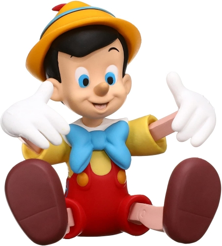 Medicom UDF Ultra Detalhe Figura Pinocchio 7cm Oficial Licenciado