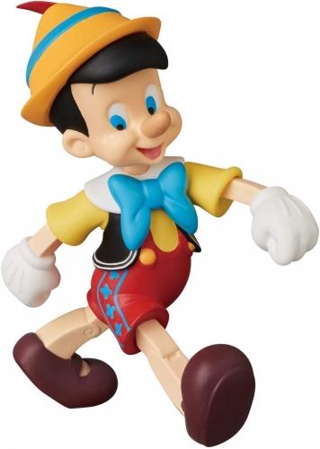 Medicom UDF Ultra Detalhe Figura Pinocchio 9cm Oficial Licenciado
