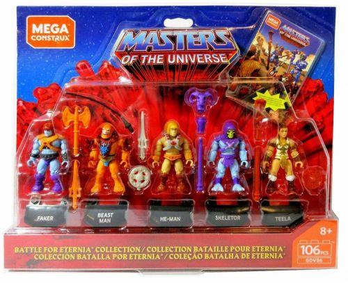 Mega Construx Heroes Battle of Eternia Collection Oficial Licenciado