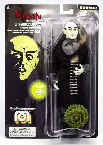 Mego Action Figure Nosferatu Brilha no Escuro 20cm Oficial Licenciado