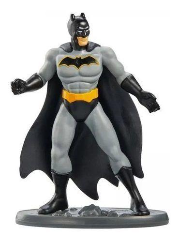 Mini Figura - 7 Cm - DC Comics - Liga da Justiça - Batman - Mattel