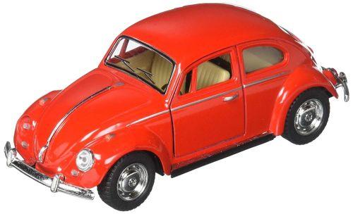 Miniatura Fusca 1967 Vermelho Abre Porta