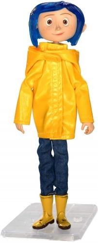 NECA Coraline  Coraline in Rain Coat 18cm Oficial Licenciado