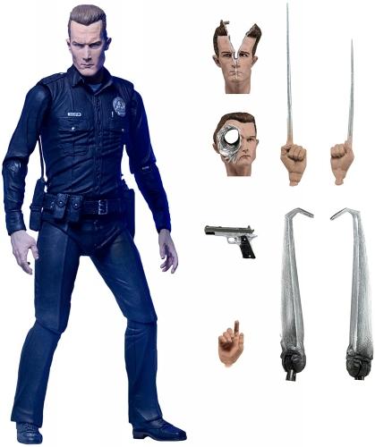 NECA Ultimate T-1000 Terminator Action Figure Oficial Licenciado
