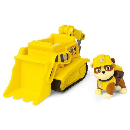 Patrulha Canina Rubble's Bulldozer Veículo com Figura Oficial Licenciado