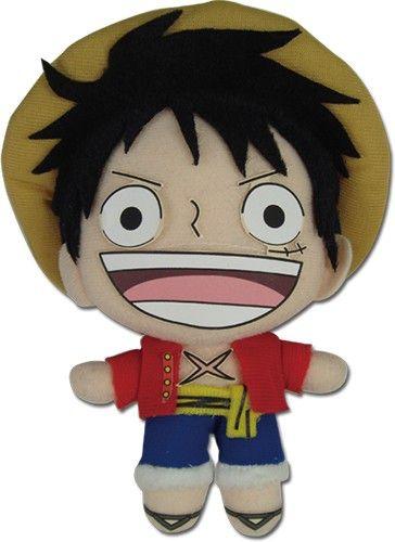 Pelúcia One Piece Luffy 13cm Oficial Licenciado