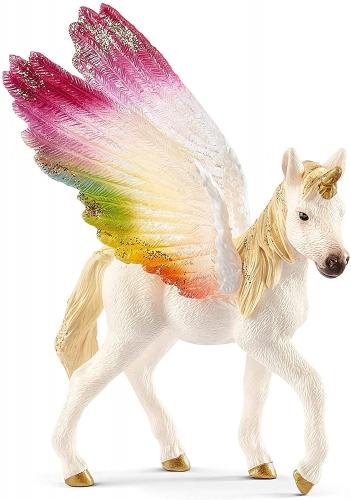 Schleich bayala Winged Rainbow Unicorn Foal Oficial