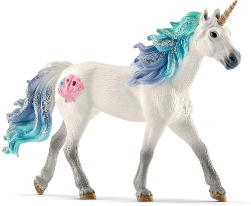 SCHLEICH bayala Sea Unicorn Stallion Oficial