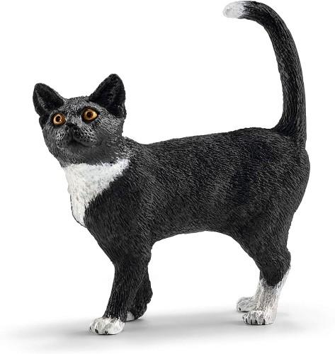Schleich Farm World Cat Standing Oficial licenciado