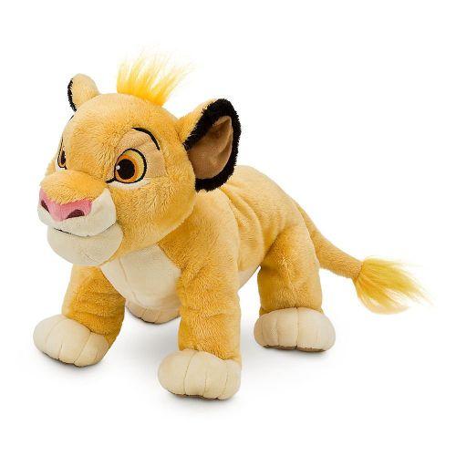 Simba Rei leão Pelúcia Original Disney Store