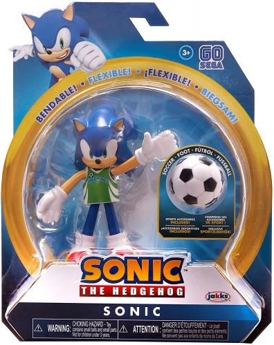 Sonic The Hedgehog Soccer Sonic Dobrável Oficial Licenciado