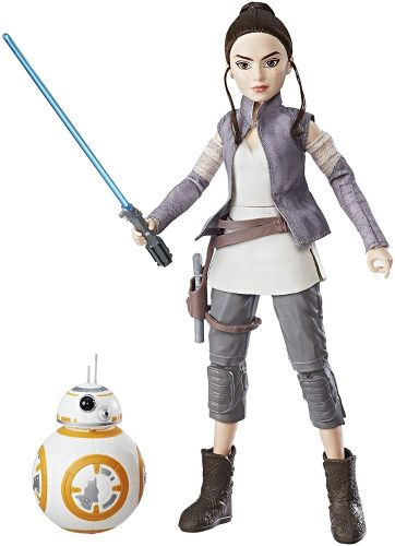 Star Wars Forces of Destiny Rey of Jakku and BB-8 Oficial Licenciado