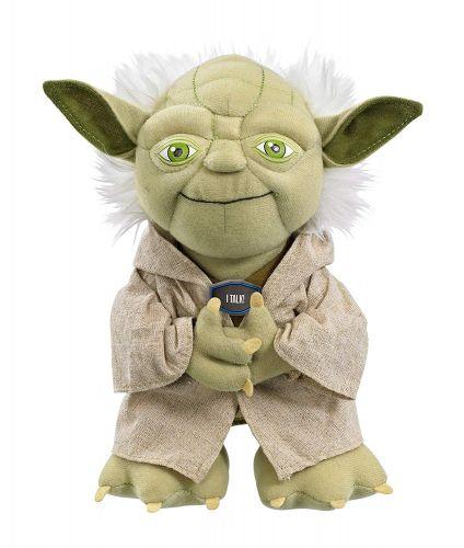 Star Wars Mestre Yoda Pelúcia - Fala frases em Inglês  (Original)
