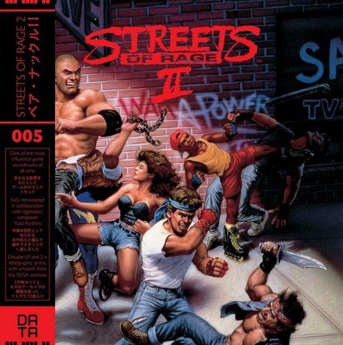 Streets of Rage 2 Trilha Sonora Em Vinil Oficial Licenciado