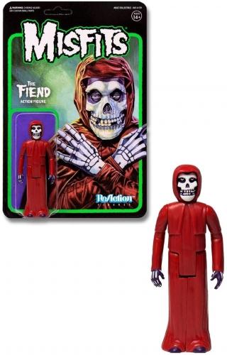 Super7 Misfits The Fiend Crimson red Version Reaction Oficial Licenciado