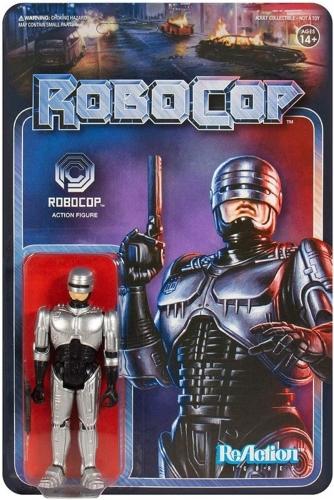 Super7 Robocop Reaction Figure Oficial Licenciado