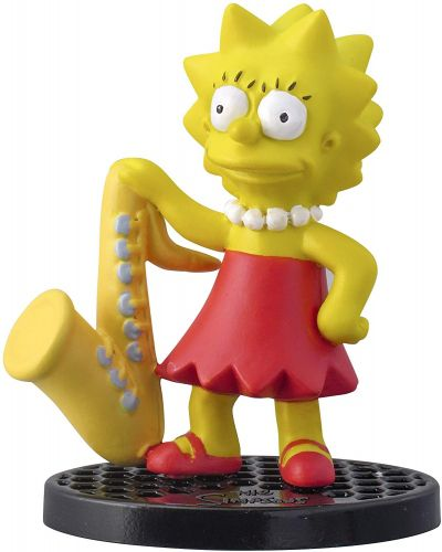 The Simpsons Lisa 5cm PVC Action Figure Oficial Licenciado
