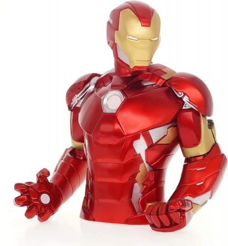 Vingadores Homem de Ferro Cofre Busto Oficial Licenciado