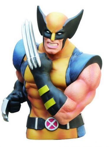 Wolverine Action Figure Cofre Busto Oficial Licenciado