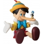 Medicom UDF Ultra Detalhe Figura No. 462 Pinocchio Nariz Comprido Oficial Licenciado