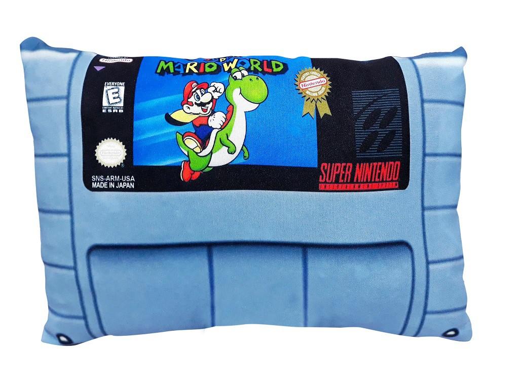 Almofada Super Nintendo - Super Mario World