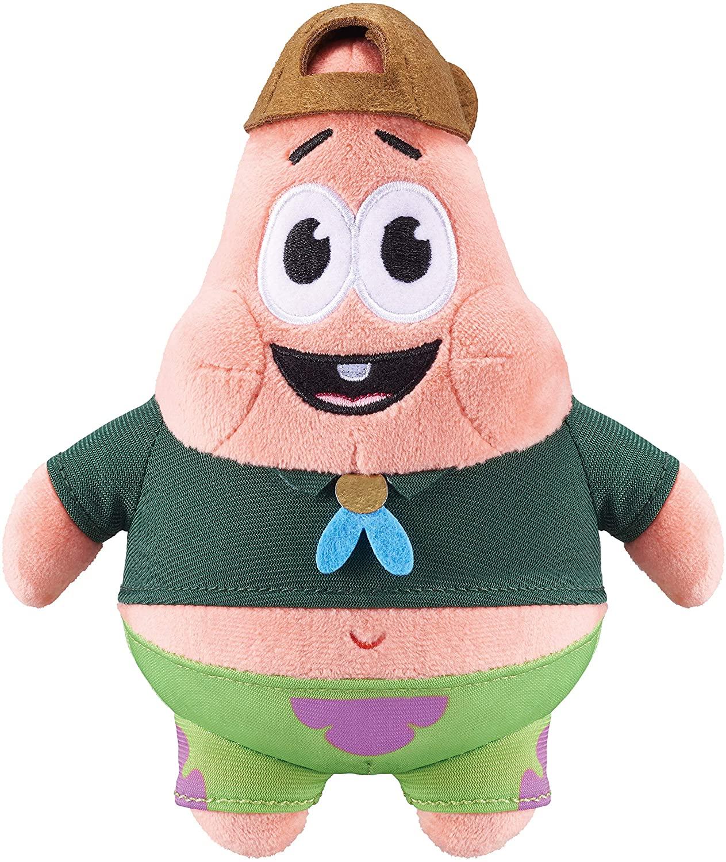 Alpha Bob Esponja Calça Quadrada - Mini Pelúcia Patrick Oficial