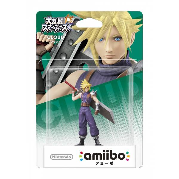 Amiibo Cloud - Super Smash Bros Serie Oficial Licenciado