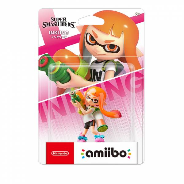 Amiibo Inkling / Girl  - Super Smash Bros. series Oficial Licenciado