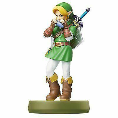 Amiibo Link ( Ocarina of Time ) - Legend of Zelda Oficial Licenciado