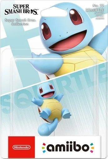 Amiibo Squirtle Super Smash Bros Pokemon Squirtle