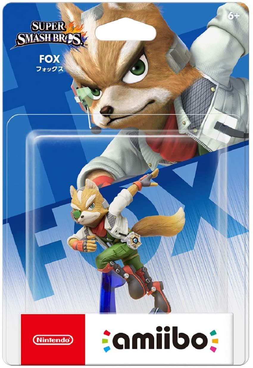 Amiibo Super Smash Bros Fox Oficial Licenciado