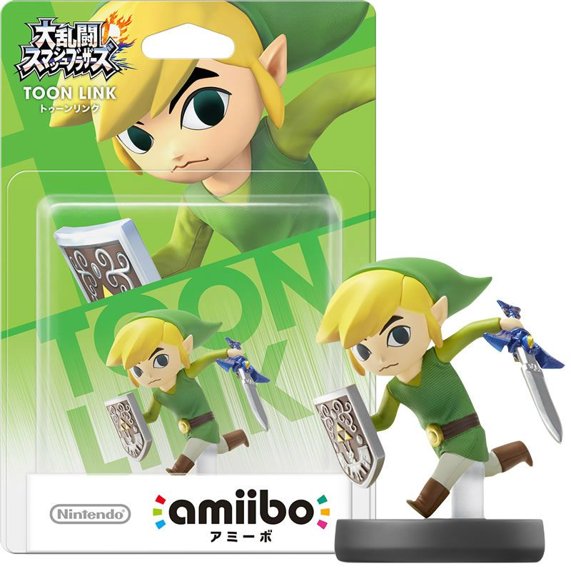 Amiibo Super Smash Bros Toon Link