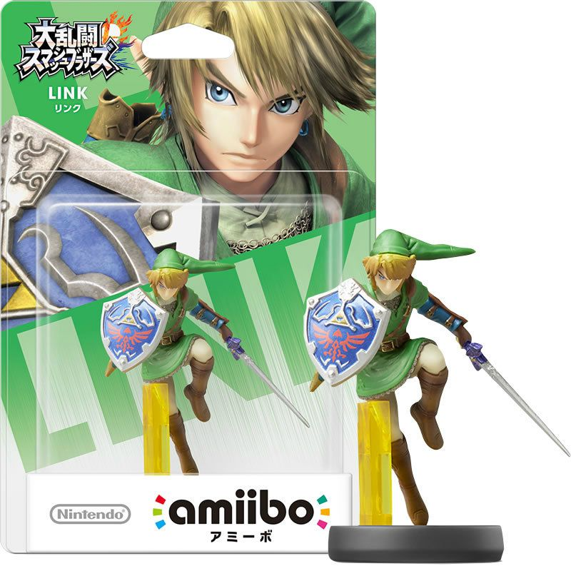 Amiibo The Legend Of Zelda - Link com base