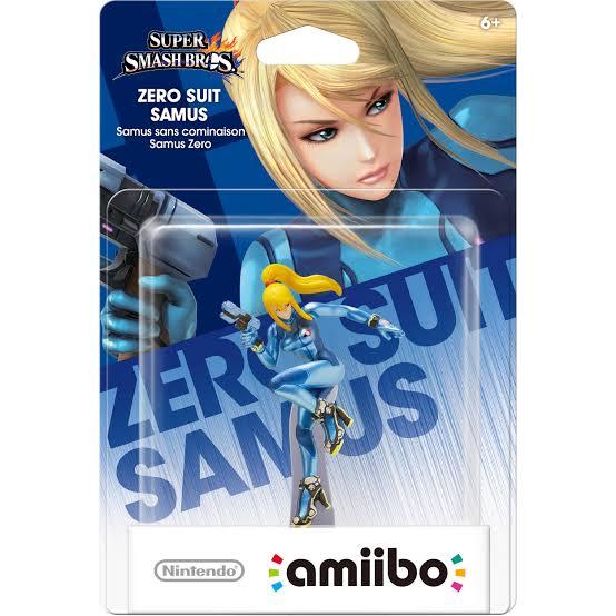 Amiibo Zero Suit Samus Super Smash Bros Series Oficial Licenciado