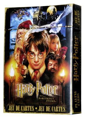 Aquarius Harry Potter e a Pedra Filosofal Baralho Oficial Licenciado