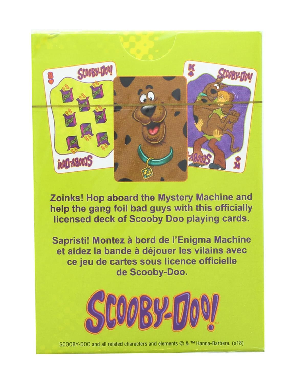 Aquarius Scooby Doo Baralho Oficial Licenciado