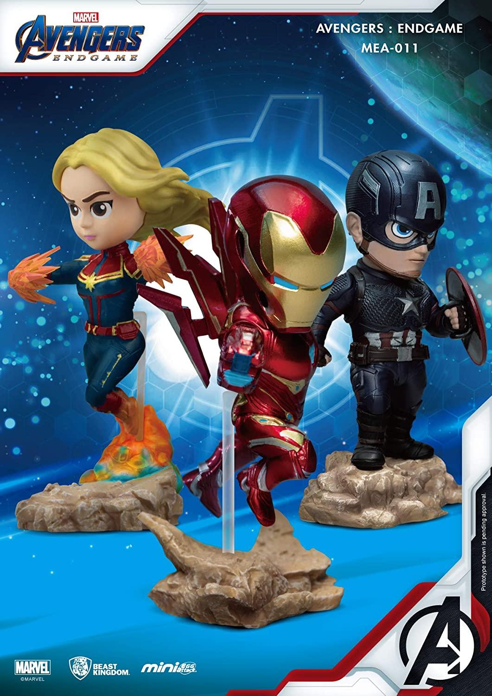 Avengers Endgame Captain America Mea-011 Mini Egg Attack