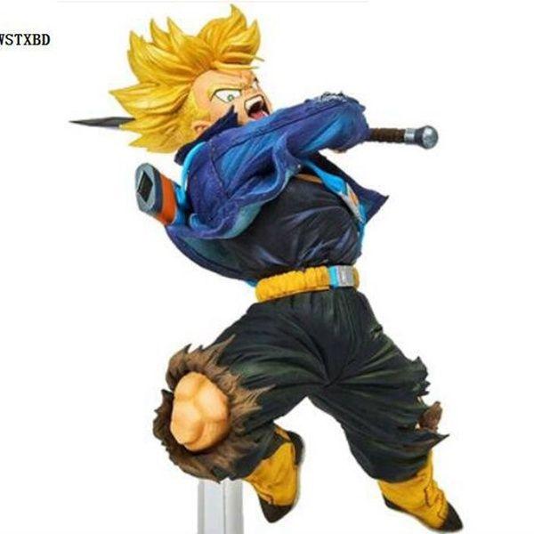 Bandai Dragon Ball Super World Figure Colosseum Trunks Oficial Licenciado