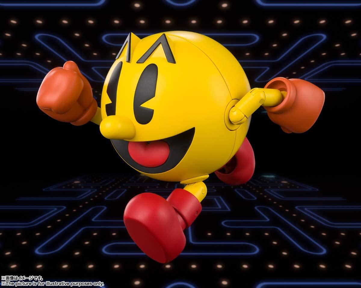 Bandai Spirits Tamashi Nations Pac-Man S.H.Figuarts Oficial Licenciado
