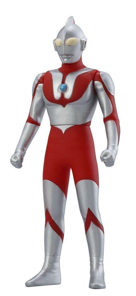 Bandai Ultra Hero Kaiju 500 Series 01 Ultraman Action Figure
