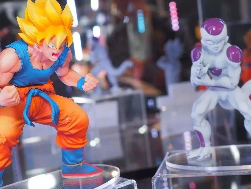 Banpresto Conjunto Goku Freeza Dramatic Showcase Oficial Licenciado