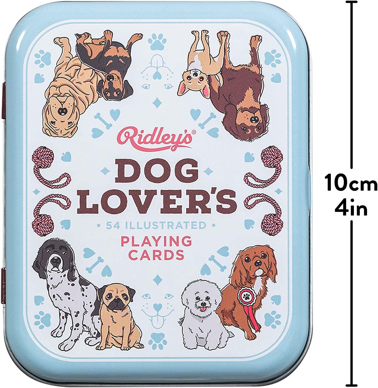 Baralho Dog Lovers com 52 Raças Caninas