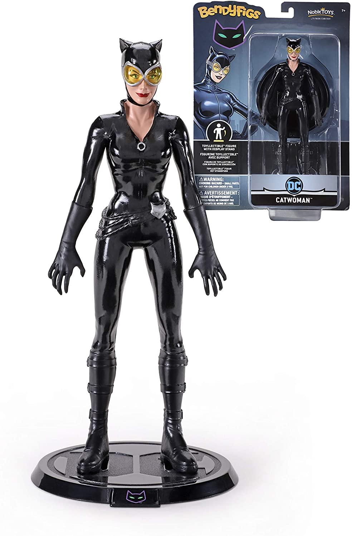 BendyFigs DC Comics Catwoman Oficial licenciado